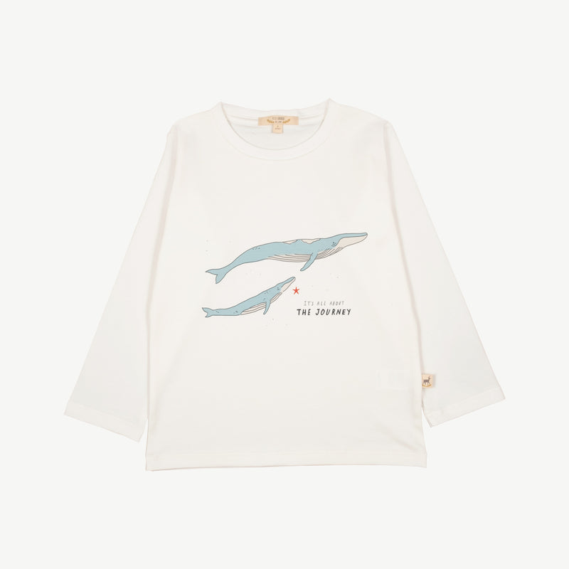 'the journey' eco white t-shirt