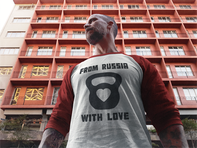 Zendorphin Design's From Russia with Love Shirt
