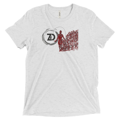 Men's Tri-blend T-shirt - Double Under - Zendorphin Design