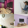 NEW Brick Style 3D Foam Wall Paper Decal