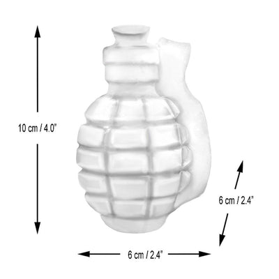 "New ""Da Bomb"" 3D Grenade Ice Cube Mold"
