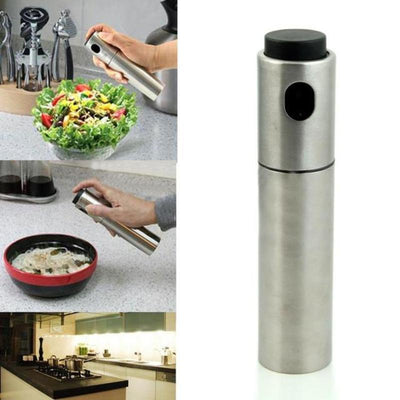 Deluxe Stainless Steel No Mess Oil Sprayer
