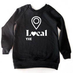 Kids Crewneck Local Love