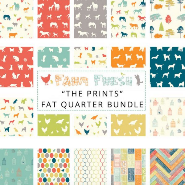 "Fat quarter bundle ""Farm Fresh"""
