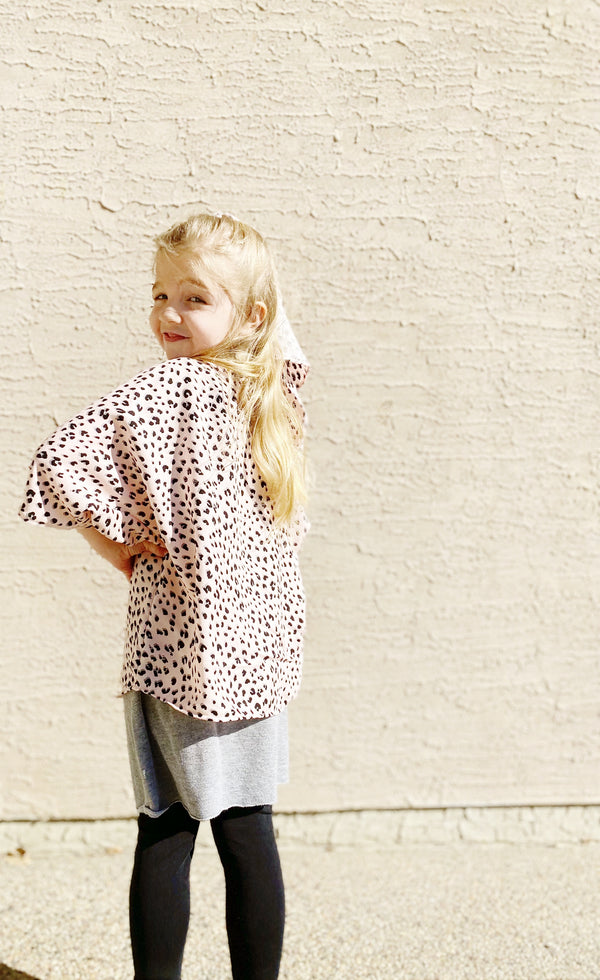Kids Summer Duster in 4 Colours