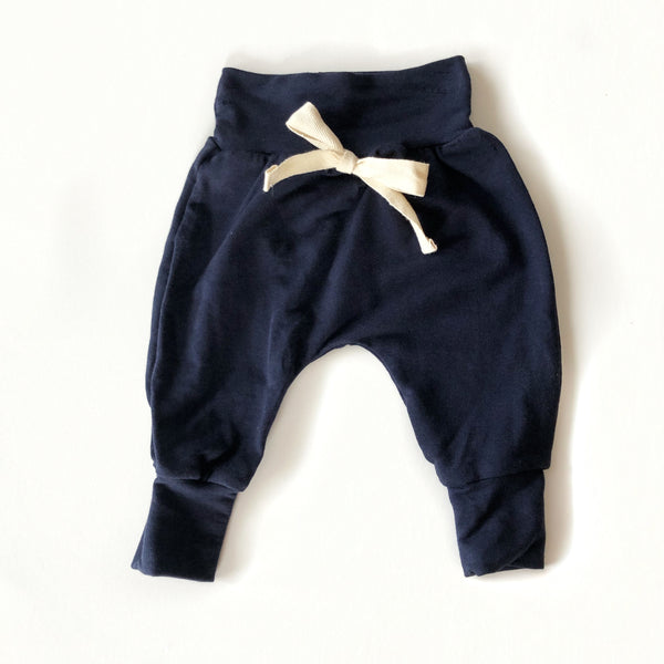 Kids & Baby Harem Pants Navy