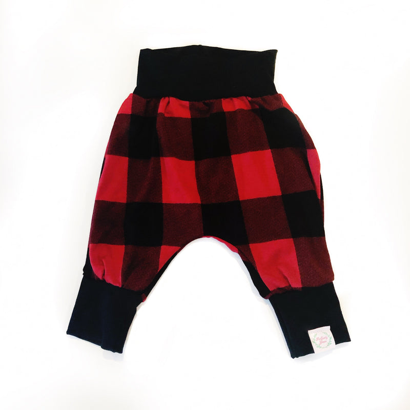 Harem Pants Buffalo Plaid Bamboo