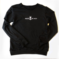 Women's Long Sleeve Bamboo Top Crew Neck - Bee Kind