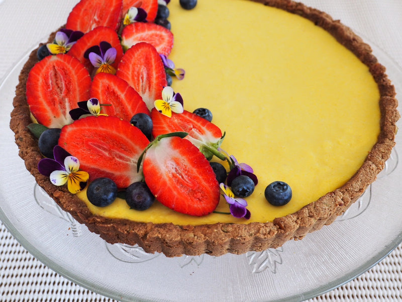 Love Your Gut With Larina Robinson's Lemon Curd Tart + Spring Fast Five