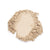 Ivadore 100% Mineral Loose Powder showing colour swatch. Natural beige suitable for light skin that has warm beige undertones