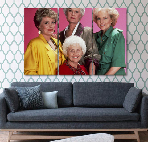 Golden Girls 3 Wall Art