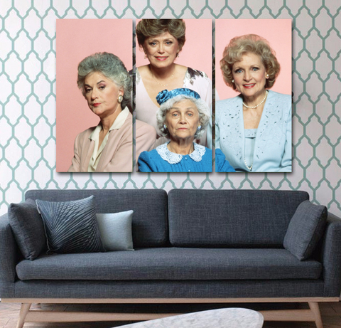 Golden Girls 4 Wall Art