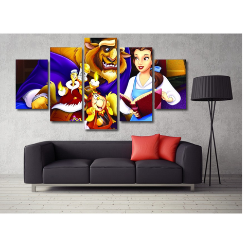 Beauty And The Beast 2 Wall Art