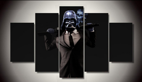Darth Vader Suited Wall Art