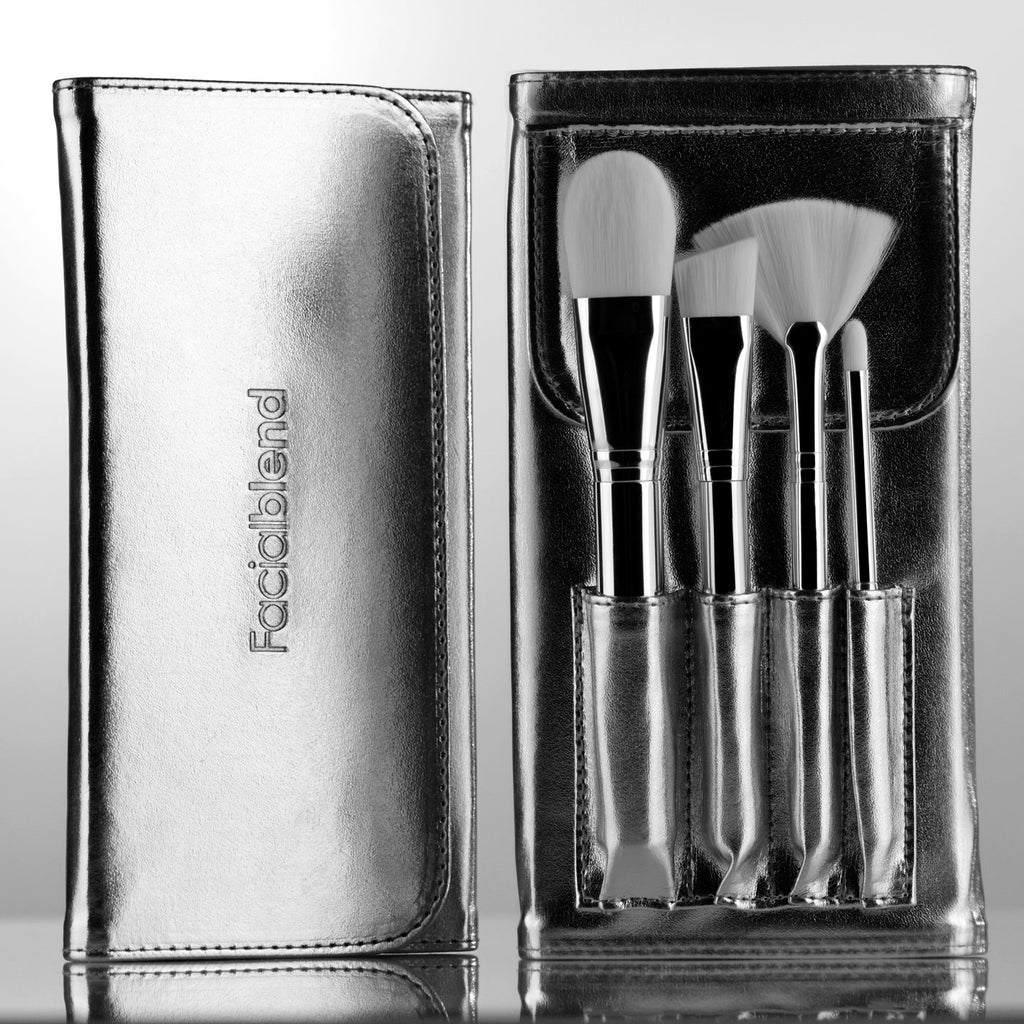 Facial Brush Set 4PC White