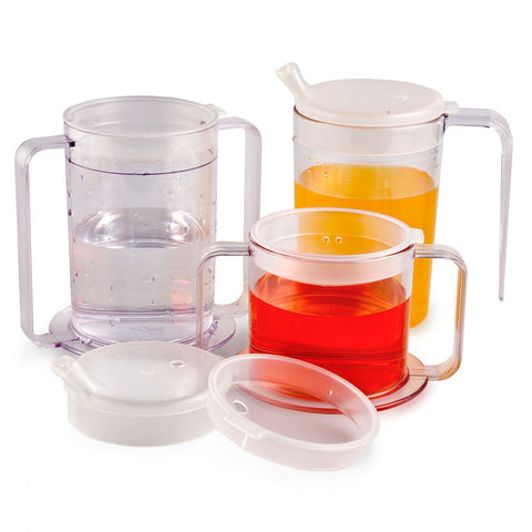 Indendence Spill Proof Sippy Cups hold 6 oz, 9 oz or 12 oz