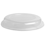 Clear plastic lid for adaptive plates - scoop plate, partition plate, rim plate