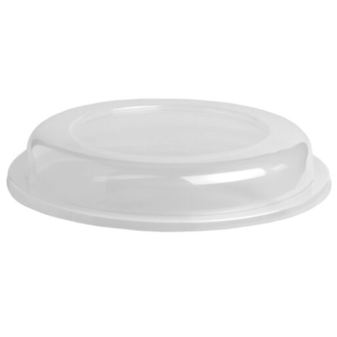 "Lid for Independence Rim Plates<br>9"" - Clear"