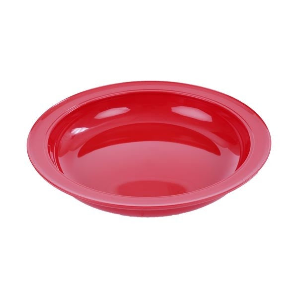Inner lip plate with rim - adaptive dishes - non slip