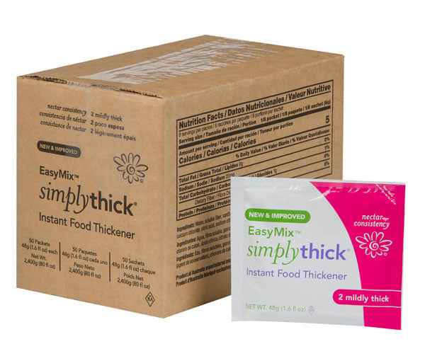 SimplyThick EasyMix Nectar Consistency<br> BULK Packets (48g)