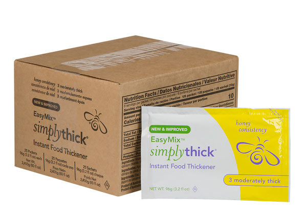 SimplyThick EasyMix Honey Consistency<br>Bulk Packets (96g)