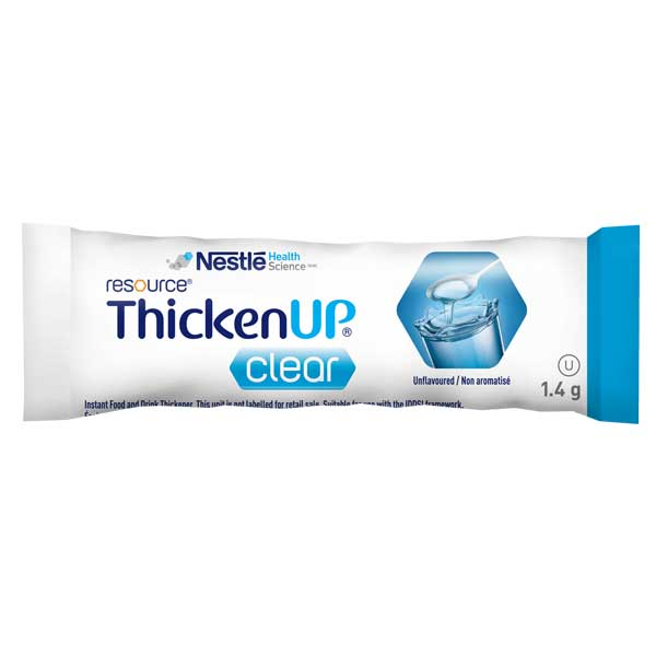 ThickenUp Clear-Individual Sachets<br>24 x 1.4g Stick Packs