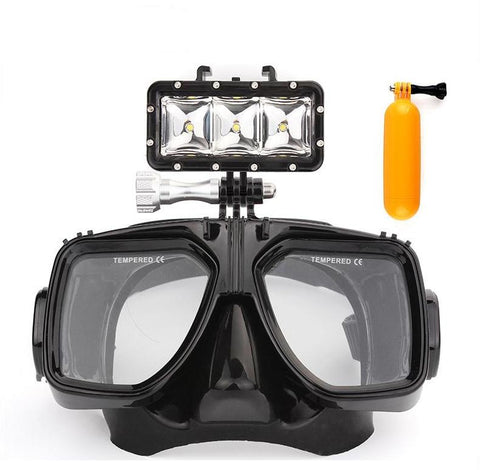 Diving Mask/Light/Floating Bobber
