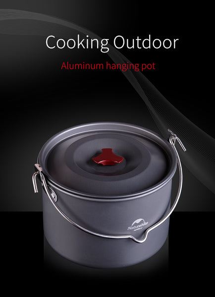 4-6 Person Outdoor 4L Cooking Pot
