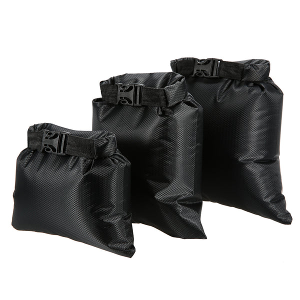 3 Piece Set (1, 2L, 3L)  Outdoor Waterproof Dry Bags