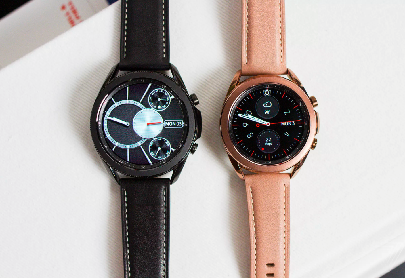 Samsung Galaxy Watch bands on the Galaxy Watch 3?