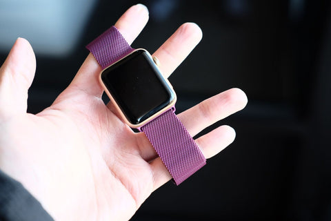 Review: Milanese Loop Apple Watch Band OzStraps Middle East 1