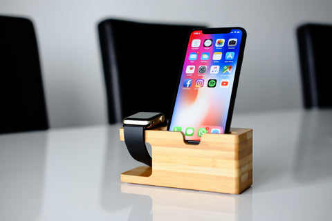 Apple Watch Bamboo Stand
