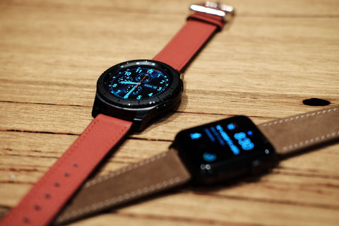 Samsung Galaxy Gear S3 vs Apple Watch OzStraps Australia 2