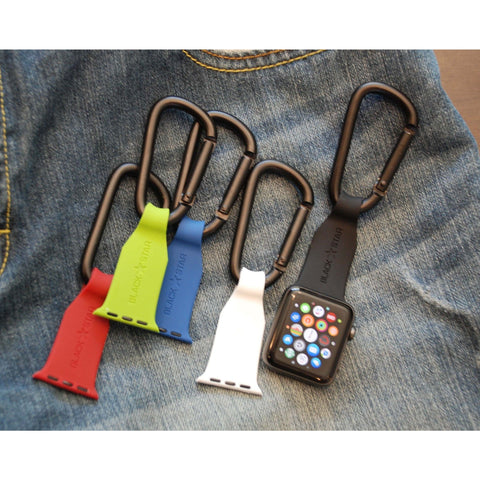 Apple Watch Band Fob Carabiner Clip | OzStraps