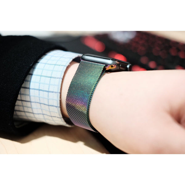 Pearlescent Milanese Loop Apple Watch Band - OzStraps