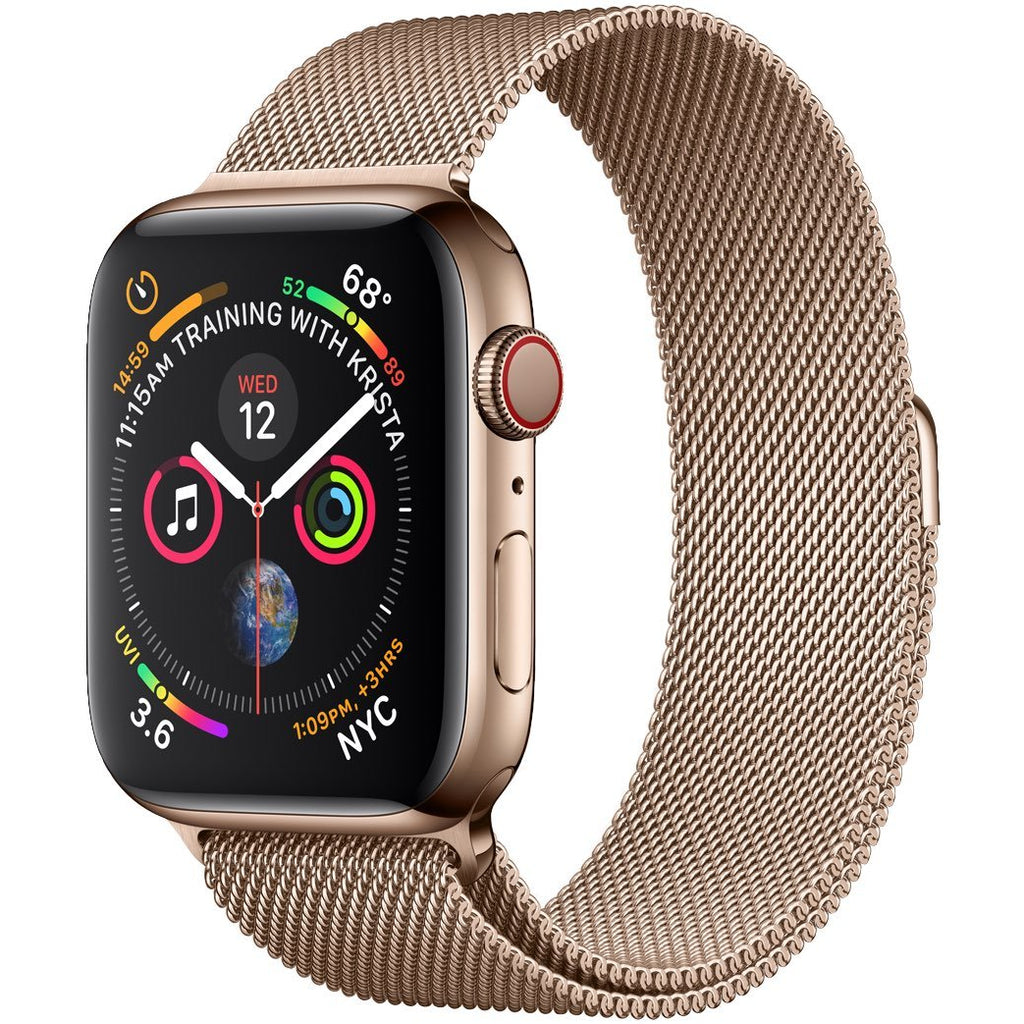 Bronze Milanese Loop Apple Watch Band | OzStraps