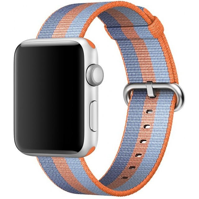3 Stripe Woven Nylon Apple Watch Band | OzStraps