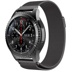 Black Milanese Loop Samsung Gear S3 Band | OzStraps