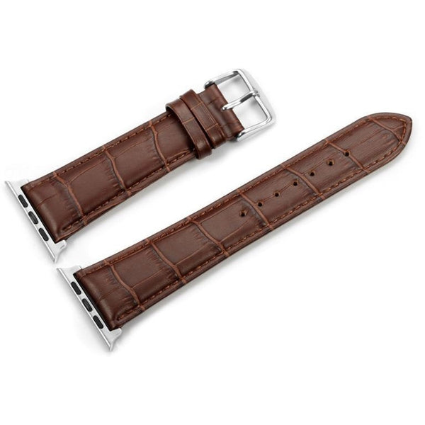 Italian Calf Leather 3 Pin Clasp Apple Watch Bands | OzStraps