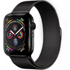 Black Milanese Loop Apple Watch Band - OzStraps