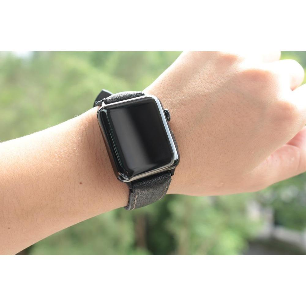 Padded Leather Apple Watch Band - OzStraps