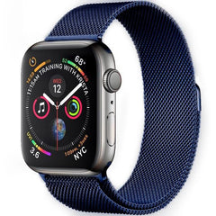 Blue Milanese Loop Apple Watch Band - OzStraps