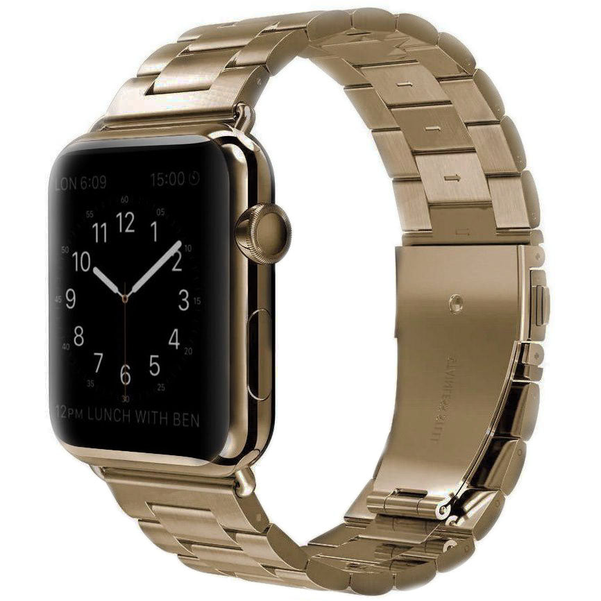 Bronze Classic Stainless Steel Apple Watch Band | OzStraps