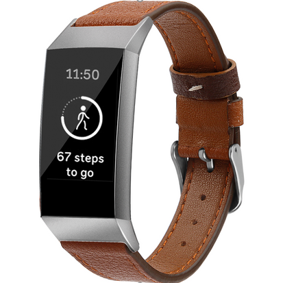 Leather Fitbit Charge 3 Bands
