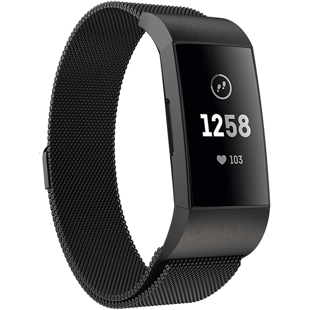 Milanese Loop Fitbit Charge 3 Bands | OzStraps