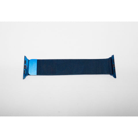 Blue Milanese Loop Apple Watch Band | OzStraps