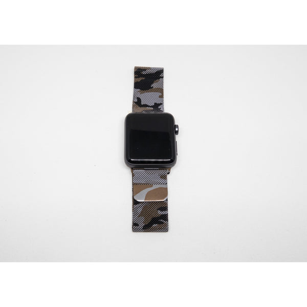 Camouflage Milanese Loop Apple Watch Band | OzStraps
