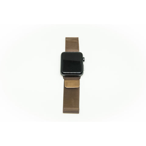 Coffee Milanese Loop Apple Watch Band | OzStraps