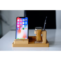 Apple Watch Stand - Bamboo Advanced - OzStraps