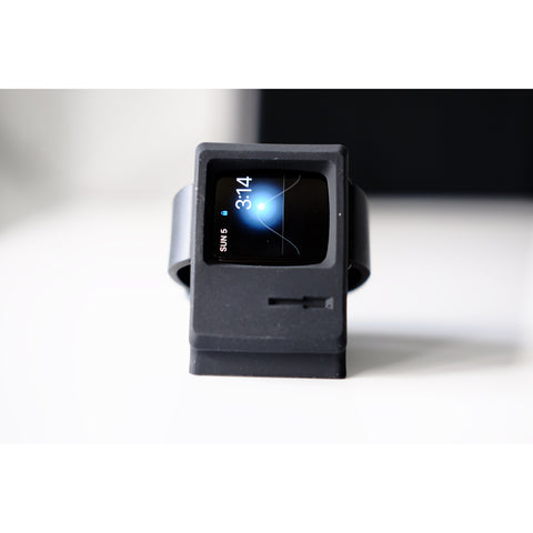 Macintosh Style Apple Watch Stand | OzStraps